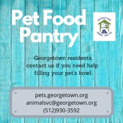 Pet Pantry Anniversary