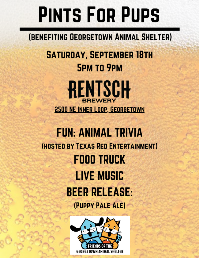 Pints for Pups Sept. 18